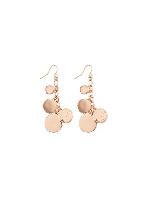 Alyssa Rose Gold Earrings