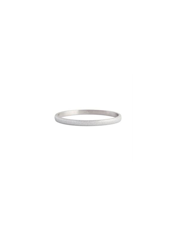 Diamond Dust Silver Bangle