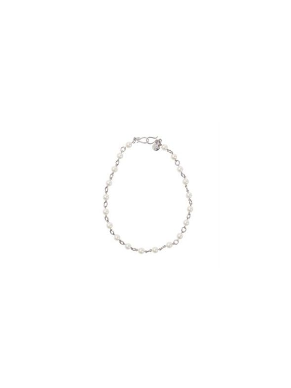 Simply Pearl Silver Chain
