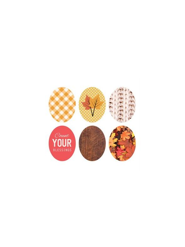 Fall Oval Locket Backdrops