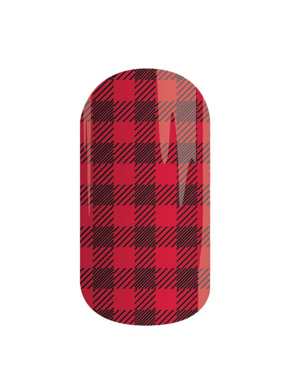 Well Plaid! - Nail Lacquer Strips