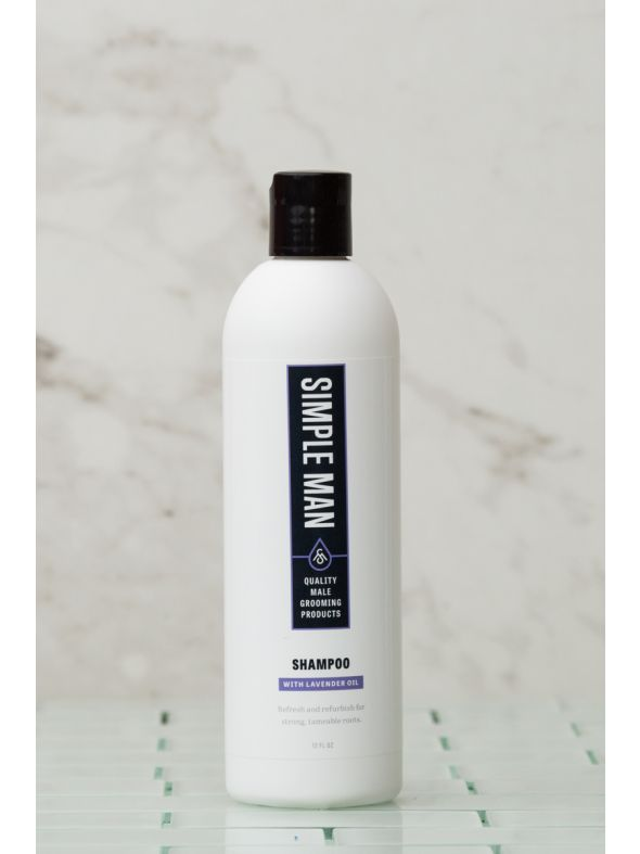 Simple Man Lavender Shampoo 12 oz
