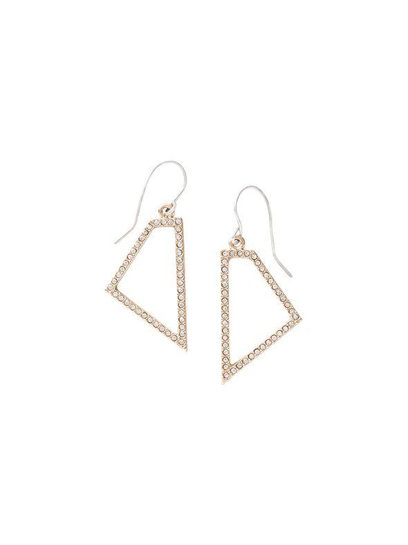 Trapezium Earrings