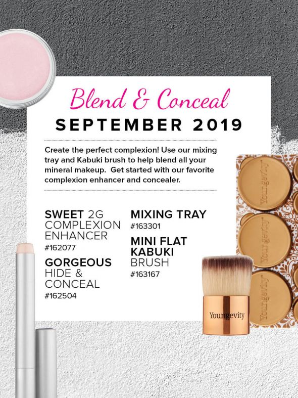 Mineral Makeup of the Month Club - September 2019